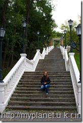 Лестница к Памятнику Магдебургскому праву