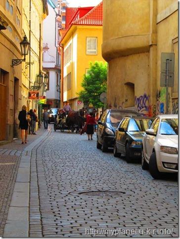 Катание на лошадях по Праге