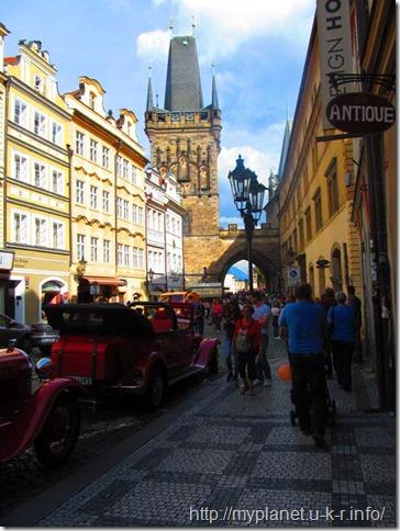 Ретро-авто в Праге