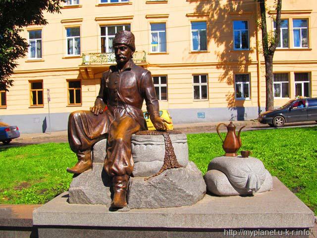 Пам'ятник Юрію-Францу Кульчицькому