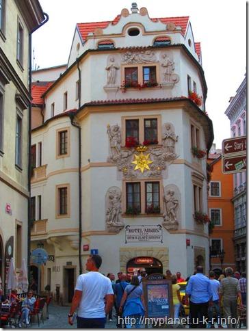 Прага - старовинний будинок