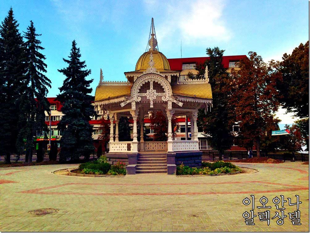Альтанка в м.Суми. Фото