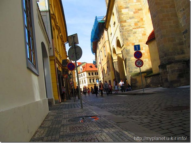 Просто фото Пражской улицы