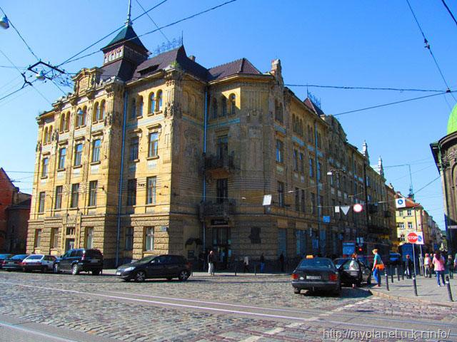 Будинок кредитної спілки Дністер