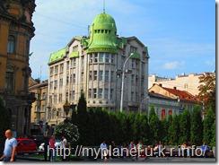 Здание Проминвестбанка. Львов