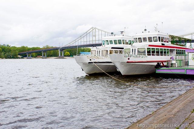 Яхти на Дніпрі