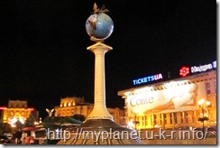 Фото ночного Киева