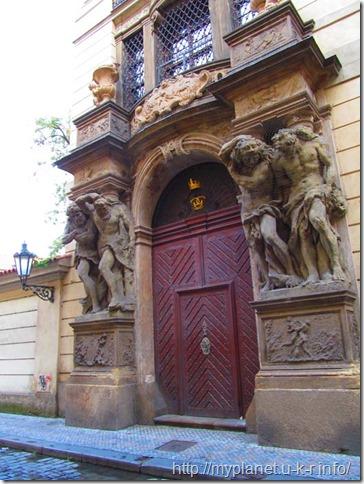 Прага - названия домов