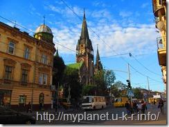 Костёл Свято́й Эльжбе́ты - фото