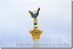 Верх Монумента Независимости Украины