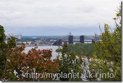 Киев. Смотровая площадка возле Арки Дружбы Народов