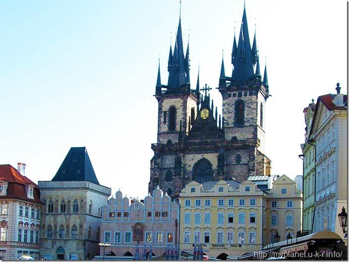 Костел Божої Матері перед Тином у Празі