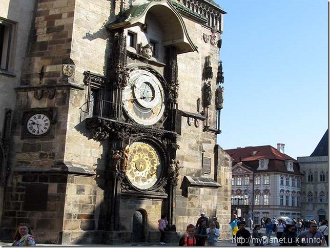 Старовинний годинник Орлой в Празі