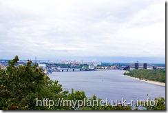Киев. Смотровая площадка - еще одно фото