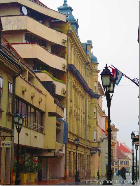 Венгерский город Дьер. Фото