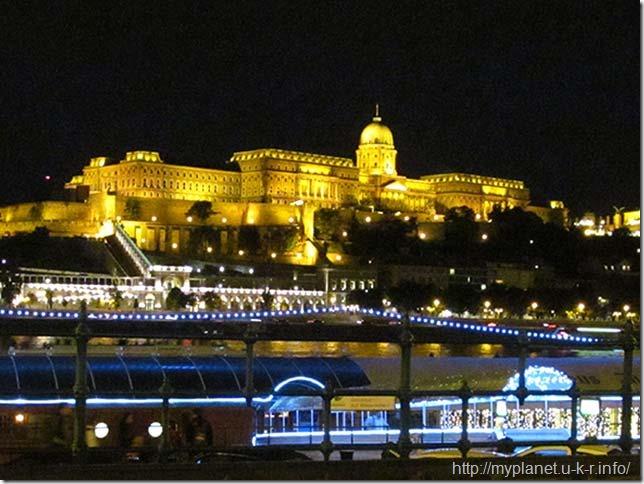 Будайская крепость в центре Будапешта