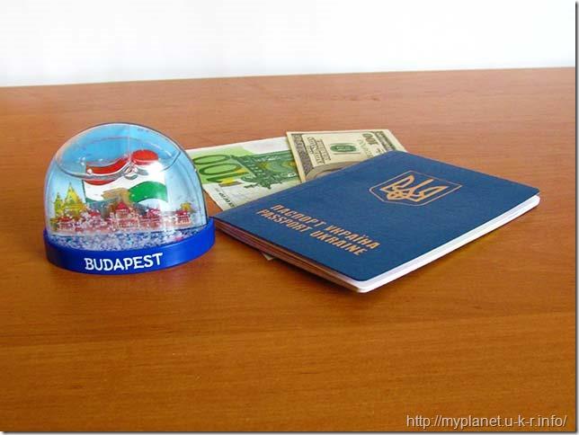 Моя сніжна куля з Будапешту