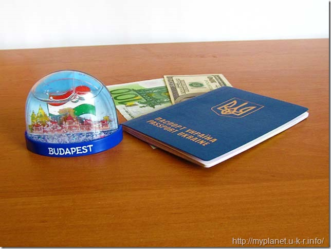 Мой снежный шар из Будапешта
