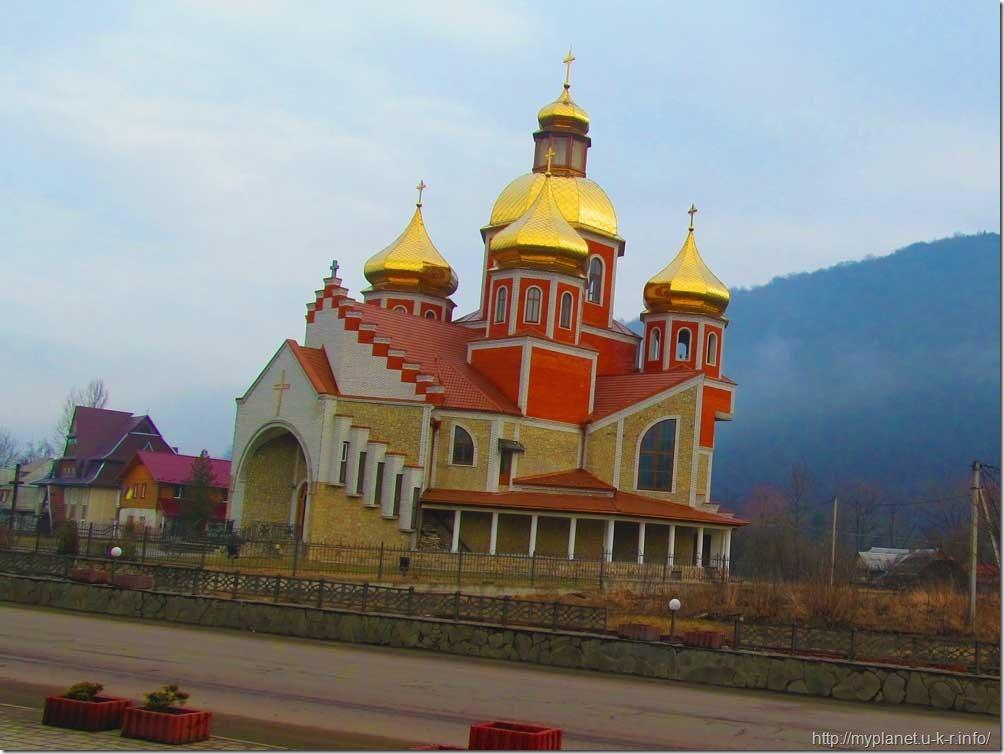 Церковь Рождества Иоанна Крестителя в Яремче