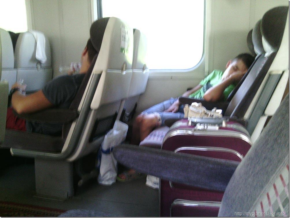 В вагоне Укрзализныци класа С2 можно неплохо выспаться