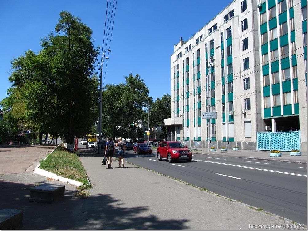 И еще киевская улица