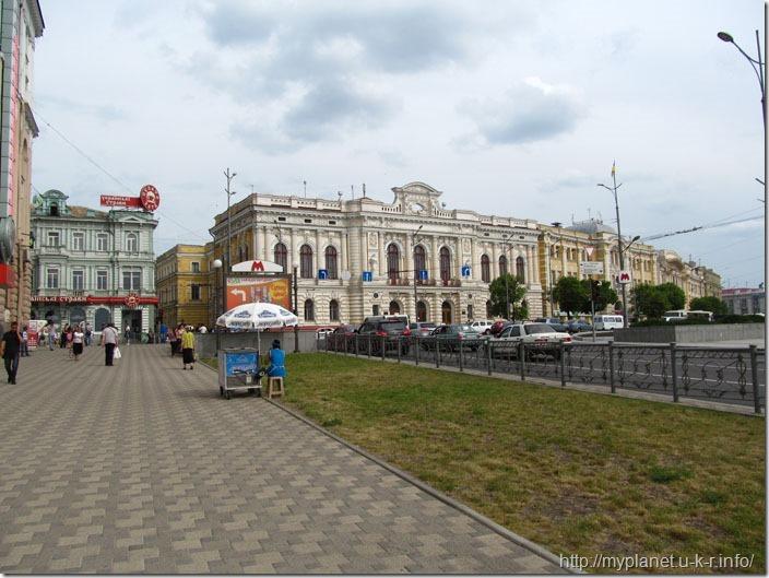 Чиста європейська вуличка в Харкові