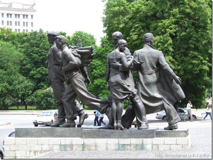 Пам'ятник студбатівцям-харків'янам