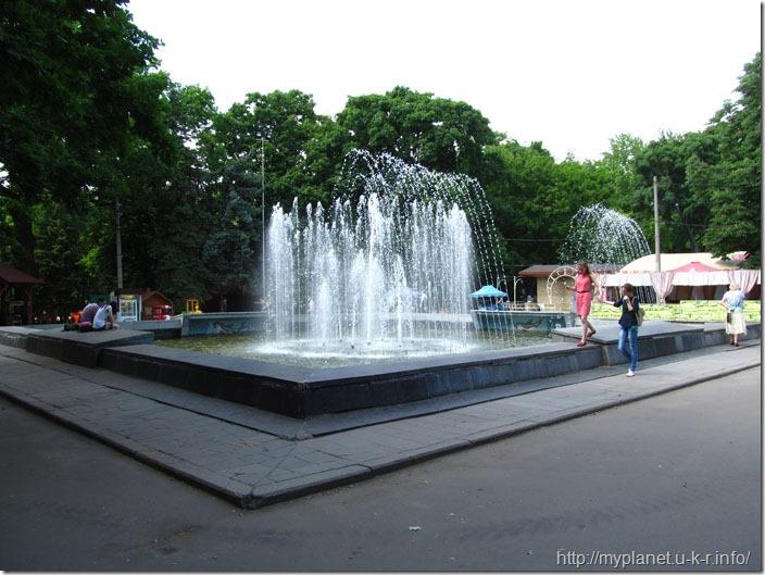 Фонтан в саду им. Т.Г. Шевченко