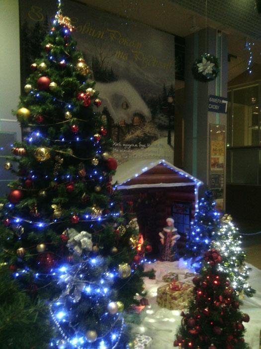 Сценка из рождественской сказки на Сумском жд вокзале 2018