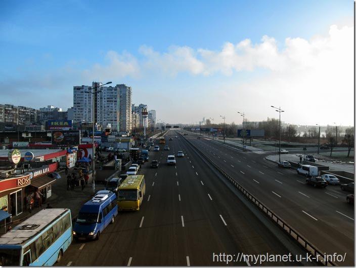 Київ. Харківське шосе. 31.12.2017