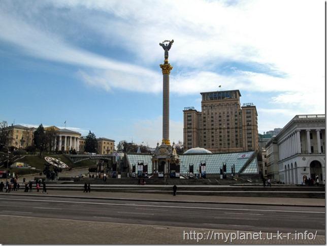 Майдан Незалежності в Києві