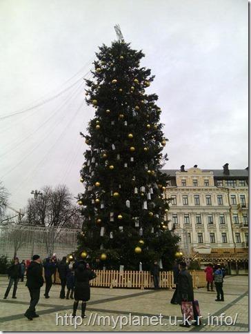 Главная новогодняя елка Украины 2018
