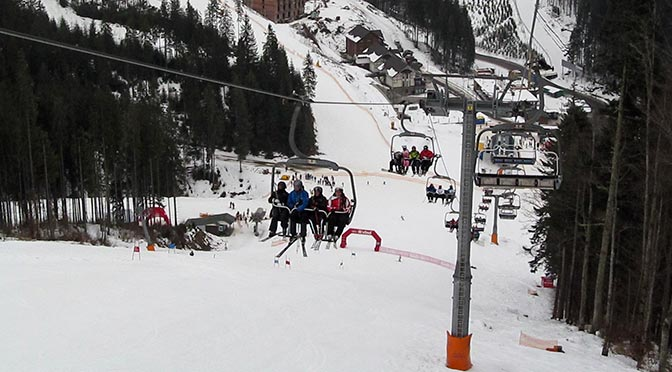 Курорт Буковель зимой