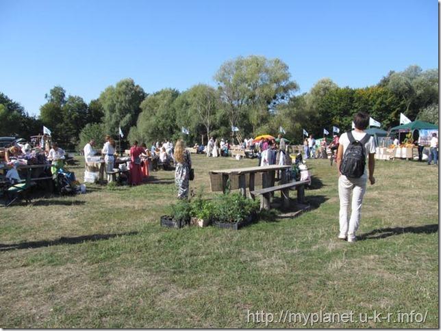 Ярмарка на Певческом поле в Пирогово