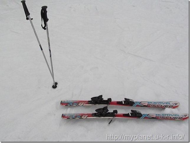 Мои горные лыжи ))