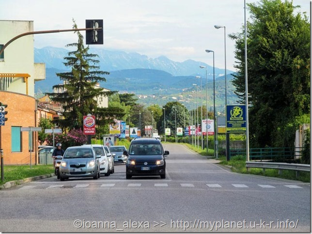 Улица в Вероне (Италия)