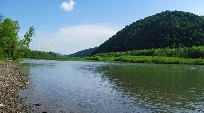 3 места, которые нужно посетить в Хусте. Пляж на реке Тиса