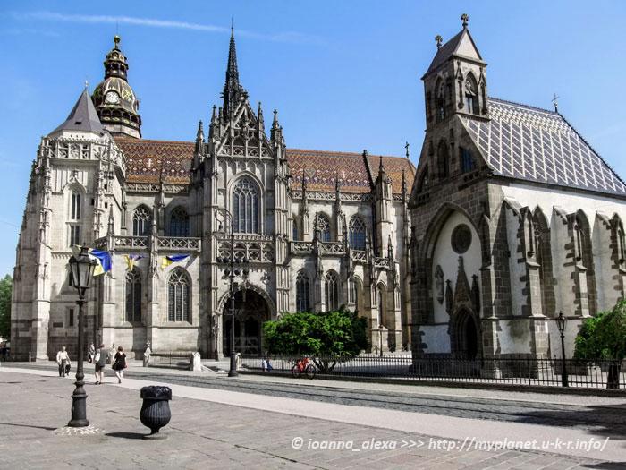 Церковь Святого Михаила возле Собора Святой Елизаветы Венгерской