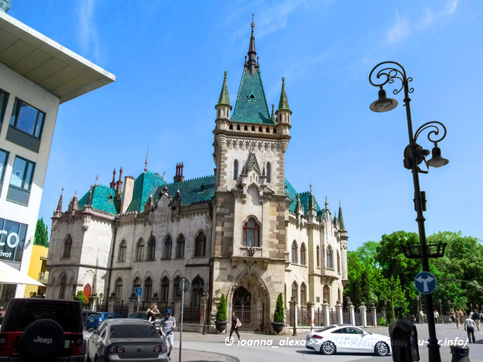Вид на Палац Якоба со стороны улицы Млынской