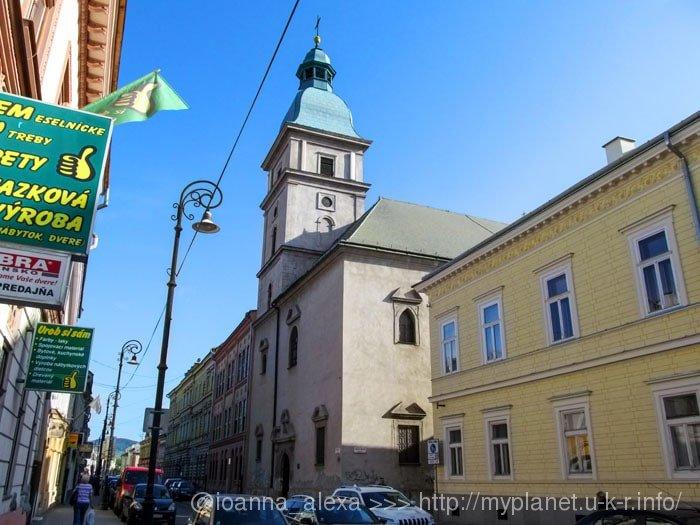 Церковь сестер Урсулинок в Кошице