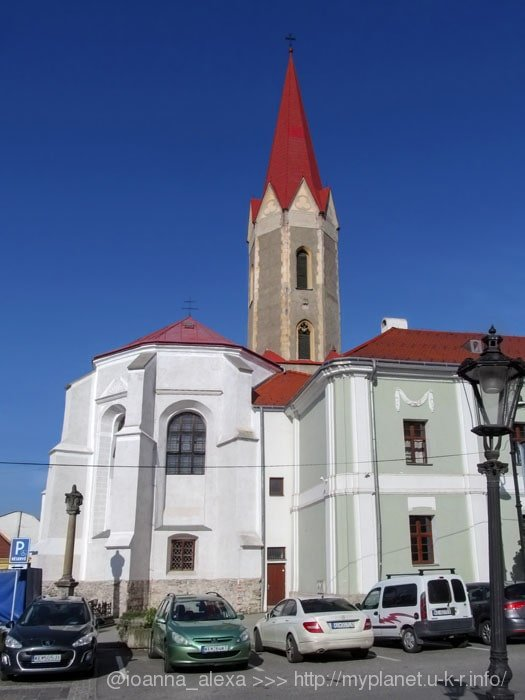 Старейшая церковь Кошице – Церковь Успения Пресвятой Девы Марии