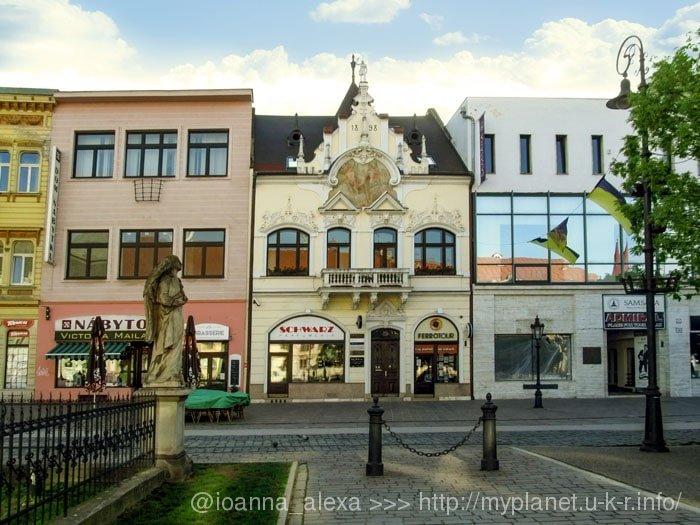 Дом нищего или Жобраков дом (Zobrakov dom) в Кошице