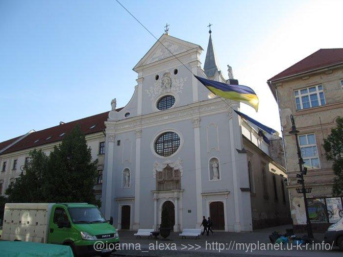Церковь Св. Антония Падуанского (Kostol svätého Antona Paduánskeho) на Главной улице в Кошице