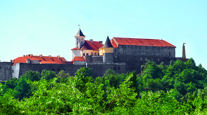 Мукачево та його Замок Паланок