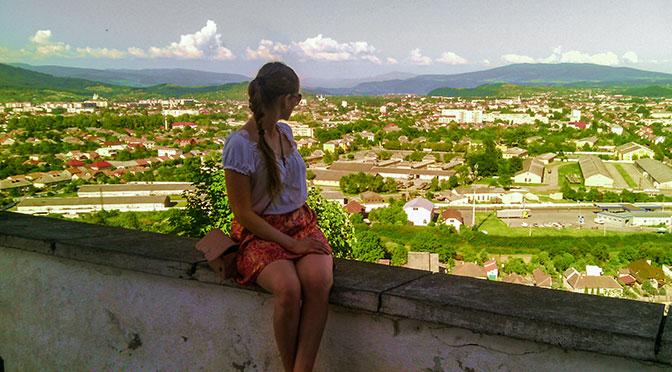 Верхний замок Паланок в Мукачево