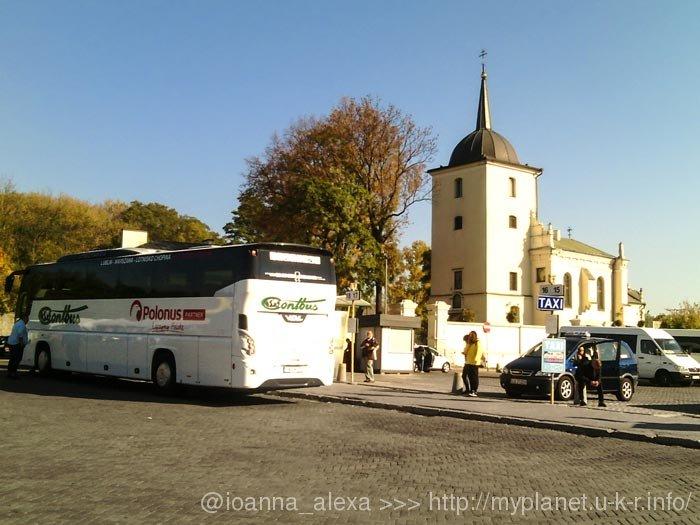 Автовокзал Люблина расположен в старой части города
