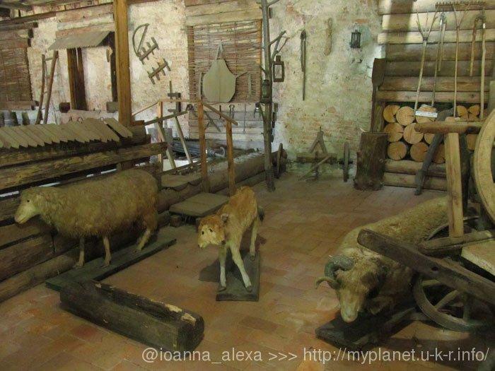 Муляжи каких-то «чернобыльских» животных