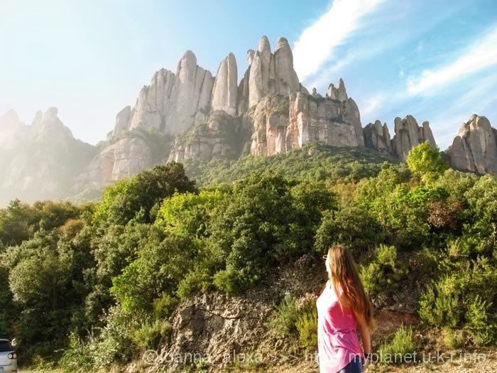 Непередаваемая красота гор Монсеррат возле Барселоны