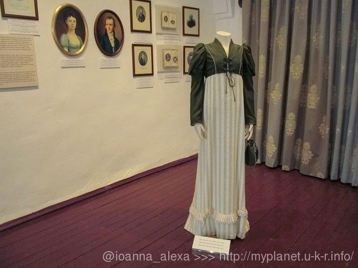 Реконструкция одежды Софии Тёрёк – жены Ф.Казинцы (приблизительно 1800 г.)