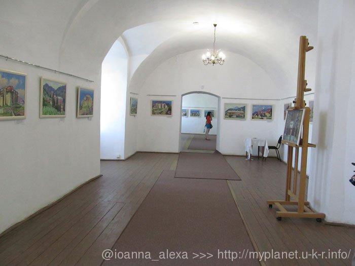 Выставка картин в Мукачевском Замке Паланок
